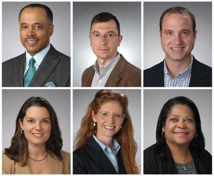 Portraits of 6 individuals