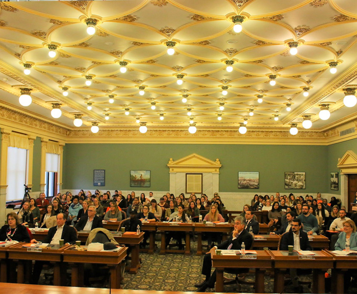 Audience at the 20th Legislative Policy Symposium