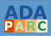 ADA PARC logo