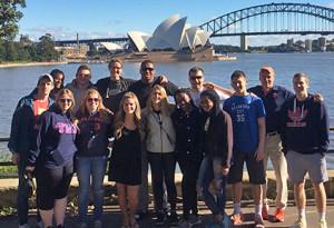 Students go down under on Australian Odyssey