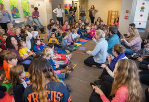Collaborative Concert with CVPA Students & Preschoolers from Bernice M. Wright Child Development Laboratory School