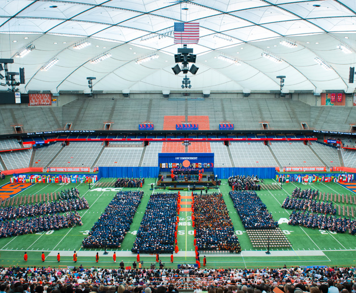 Syracuse University Commencement in the Dome