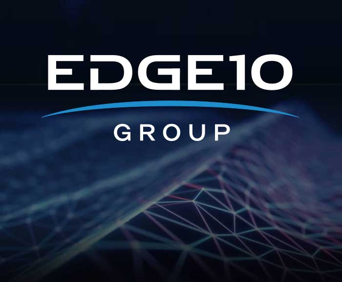 Showing logo for the Edge10 Group