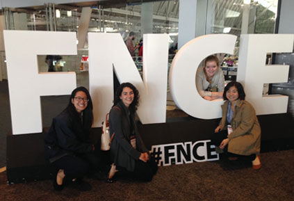 Nutrition students learn, explore, network at the Food & Nutrition Conference & Expo