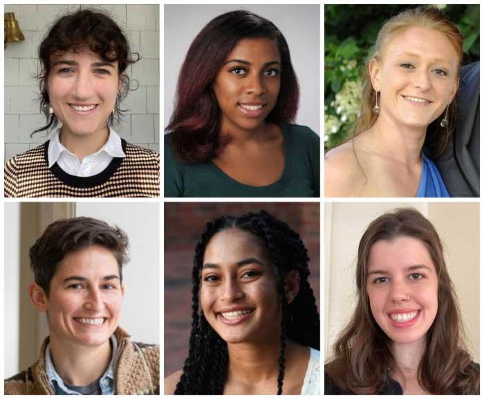 Portraits of award winners