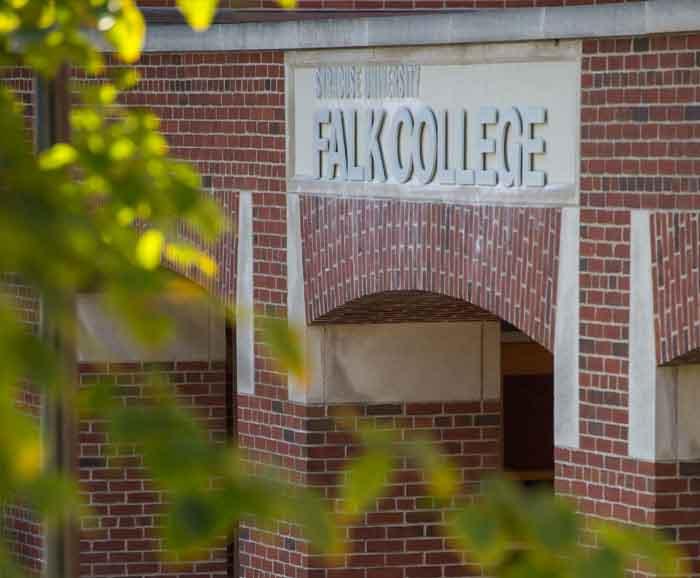 Falk College exterior