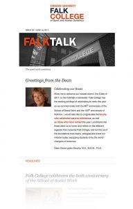 FalkTalk Newsletter