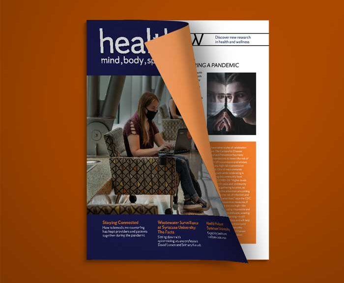 Healthy You Fall 2020 Cover and Inside page