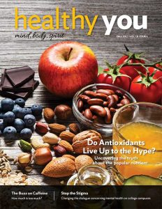 Healthy You Fall 2017 magazine cover