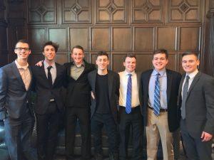 SPM Basketball analytics club members posed