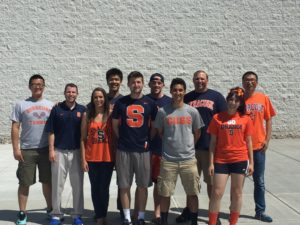 students at Carrier Dome