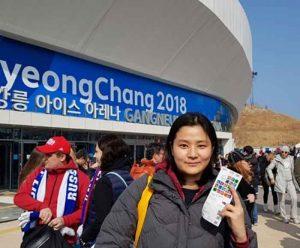 Jamie Kim at 2018 PyeongChang Olympics