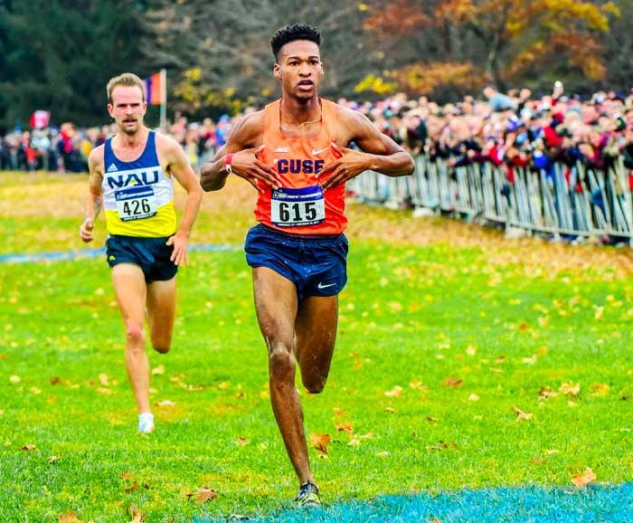 Justyn knight running to Syracuse University