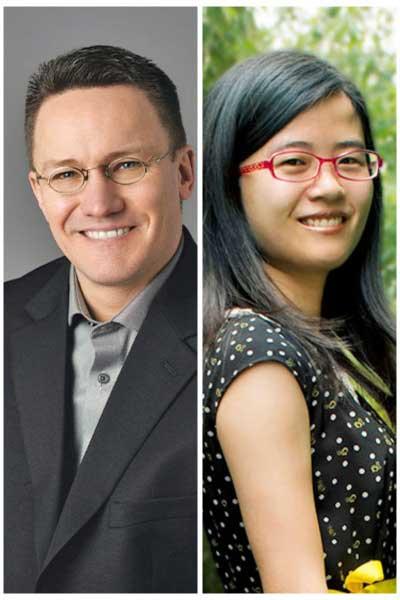 Greg Kovacs and Xiaoyan Zhang Portrait