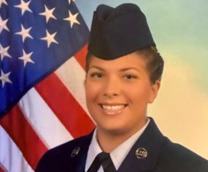 Laura Buys military portrait