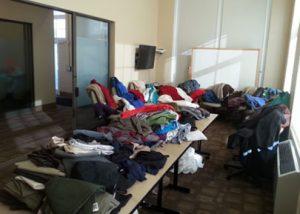 MFT Clothing Drive Donations