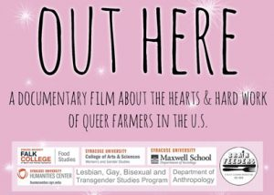Food Studies presents Out Here film screening March 28