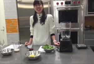 Falk College sponsors purposeful plant-based eating for cancer survivors cooking demonstration