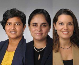 Portraits of Professors Gangamma, Walia, Minkoff-Zern
