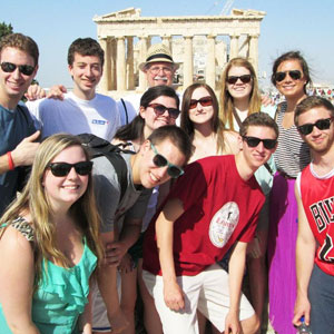 SU posed students in Athens