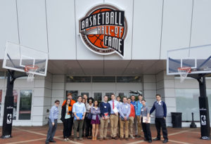 SPM students immerse themselves in New England sports culture