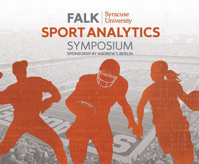 Falk College Sport Analytics Symposium poster