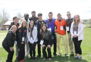 Sport Management Grad student charity golf tournament raises $15,000