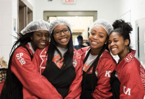 Students, faculty, staff participate in Martin Luther King, Jr. Day of Service