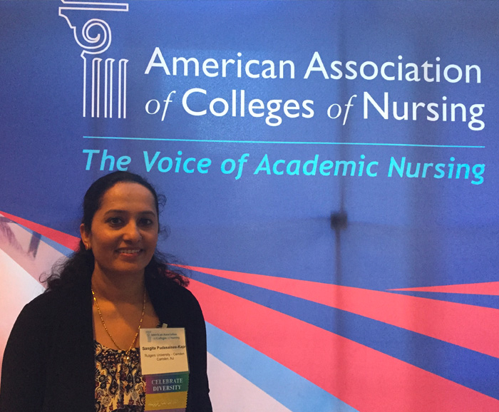 Pudasainee at AACN Faculty Development Conference
