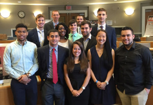 Sport Management students gain industry experience during senior Capstone