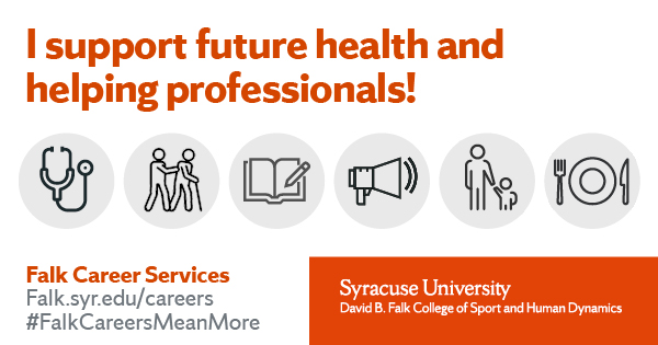 I support future health and helping professionals!