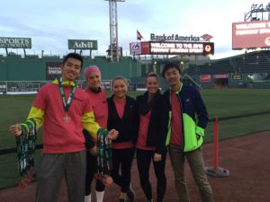 spartan race at Fenway in 2015