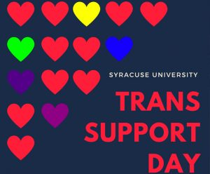 Flier design for Trans Support Day