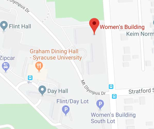 Map of Falk College complex
