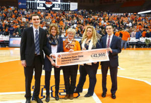 Sport Management Club raises over $40,000 during 12th Charity Sports Auction