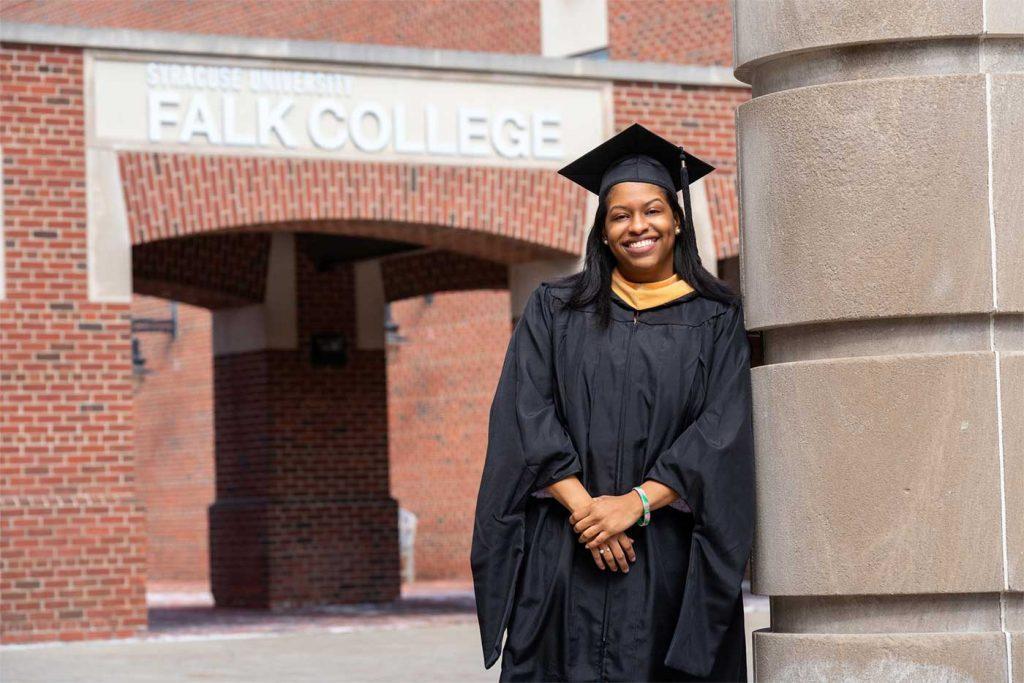 Kennedy Hagens in graduation