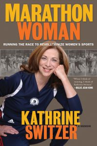 Marathon Woman cover featuring Katherine Switzer